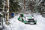 Rajd Szwecji: obie załogi ŠKODA Motorsport kończą zmagania na podium