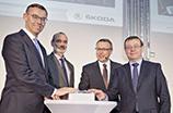 ŠKODA AUTO inwestuje 22,5 miliona euro w rozwój Centrum Dystrybucyjnego