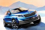 Nowy model ŠKODY na rynek chiński: pierwsze szkice miejskiego SUV-a