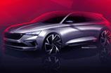 VISION RS - pierwsze szkice nowego modelu koncepcyjnego marki ŠKODA