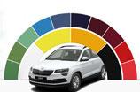 Szeroka paleta kolorystyczna w ofercie ŠKODY. Jakie lakiery najchętniej wybierają klienci?